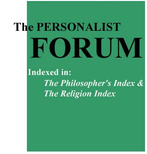 Image of Personalist Forum Journal